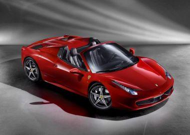 В модельном ряду Ferrari появился новый родстер 458Spider