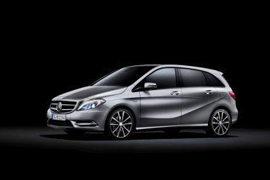 Дизайн нового Mercedes B-Class раскрыт