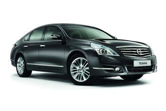 Обновленная модель седана бизнес-класса Nissan Teana не сильно отличается от предыдущей модификации.