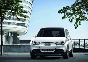 Электрический концепт A2 составит компанию супер-спортивным моделями линейки S на стенде бренда Audi во Франкфурте.