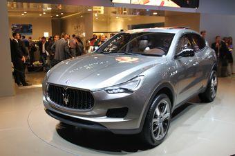Предсерийный вариант Maserati Kubang. Не исключено, что после выхода в серию эта модель станет самой продаваемой в линейке бренда.