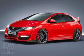 Honda Civic Type R. Возможный внешний вид