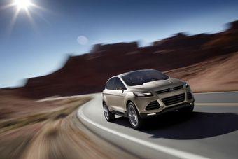 Ford готовит новую глобальную модель кроссовера Escape.