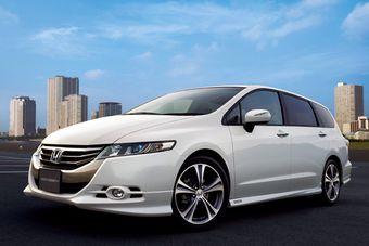 Honda Odyssey прошел малую модернизацию.