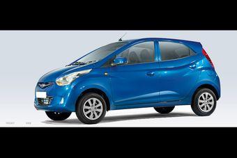 Hyundai Eon. Название модели производитель ставит в соответствие фразе «India ON».
