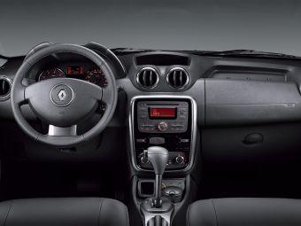 Интерьер Renault Duster. Модель появится на российском рынке уже в этом году.
