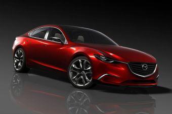 Концепт седана марки Mazda нового поколения дебютирует в Токио.