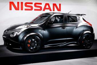 Nissan Juke-R. Первый снимок построенной модели.