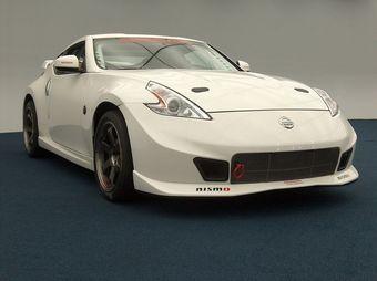 Nissan370Z NISMORC. Автомобиль, полностью готовый к автоспортивным заездам на треке.