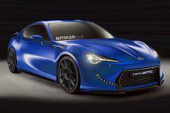 Subaru BRZ, по информации издания Autocar, будет мощнее соплатформенного купе марки Toyota.