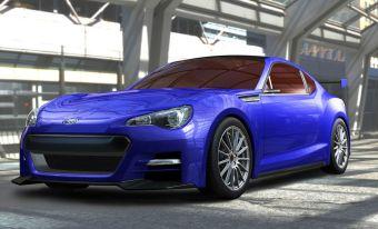 Subaru BRZ Concept – STI. Самый близкий к серийной версии концепт нового заднеприводного купе.