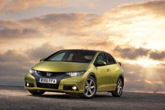 Европейский вариант Honda Civic девятого поколения.