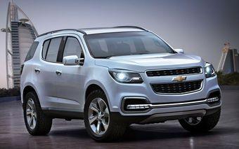 Первый концепт нового поколения Chevrolet Trailblazer будет показан на выставке в Дубае.