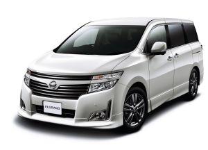 В Японии вышла обновлённая версия минивэна Nissan Elgrand
