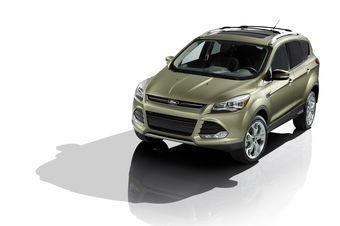 Новое поколение кроссовера Ford Escape получило дизайн Focus и силовые установки EcoBoost.