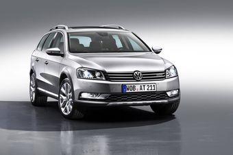 VW Passat готовится к бездорожью: Alltrack Version.