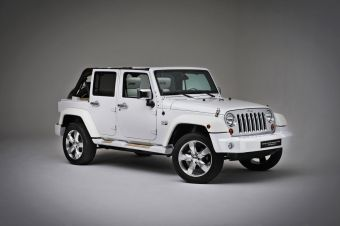 Jeep Wrangler White Nautic Concept by Style & Design