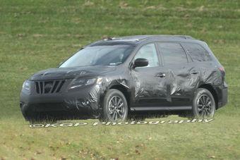 Прототип нового поколения Nissan Pathfinder.