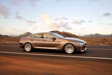 BMW представляет новую модель: 6 Series Gran Coupe