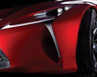 Новый концепт-кар Lexus будет представлен на Международном Североамериканском автосалоне в Детройте.
