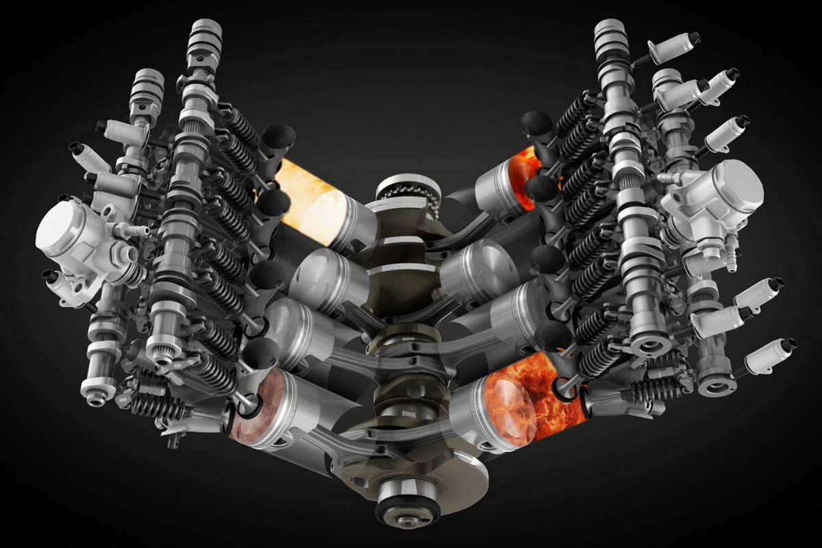 двигатели bentley