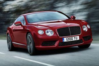 Bentley Continental GT V8 дебютирует в начале 2012 года на выставке в США.