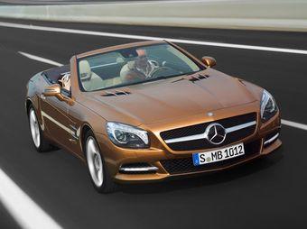 Новое поколение родстера Mercedes-Benz SL получит жесткую крышу с функцией Magic Sky Control.