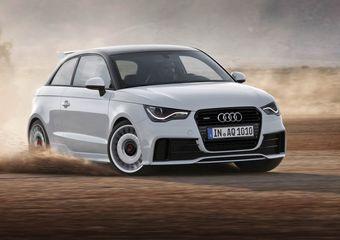 Audi A1 quattro. Новая топовая модель в линейке A1, выйдет крайне ограниченным тиражом.