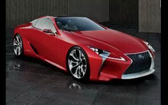 Lexus LF-Lc. Премьера концепта пройдет в начале следующего года на выставке в Детройте.