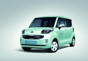 Kia представила первый корейский серийный электрокар
