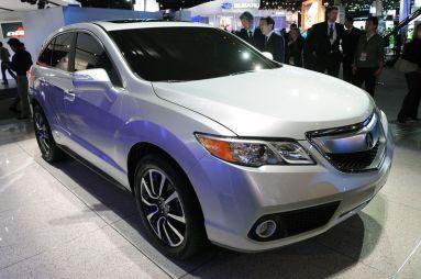 Детройт-2012. Acura RDX c новым экстерьером и мотором, а также Acura ILX — новый седан