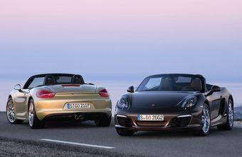 Среднемоторный родстер Porsche Boxter представлен в новом поколении.