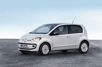 Volkswagen опубликовал официальные изображения пятидверной версии компактного хэтчбека up!