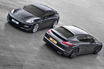 Владельцам Porsche Panamera предложен новый вариант тюнинга от ведущих разработчиков.