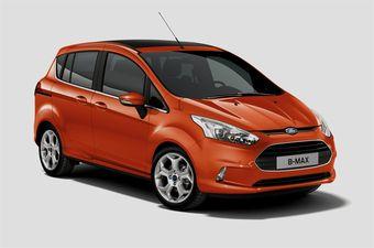 Ford B-Max. Новая модель в линейке бренда. Старт продаж в Европе запланирован на осень.