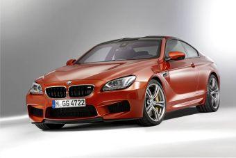 Новый BMW M6 Купе отличается динамичным контуром крыши из усиленного карбоновым волокном пластика.