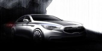 Kia обещает поразить автомобильное сообщество дизайном своей новой флагманской модели. Серийный выпуск люксового седана стартует в первой половине этого года.