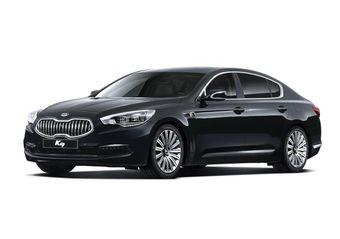 Этой весной в Корее начнутся продажи нового седана Kia K9. Автомобиль станет флагманской моделью бренда.