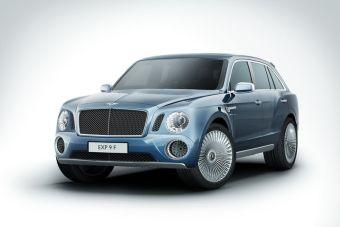 Bentley представляет совой внедорожник EXP 9 F