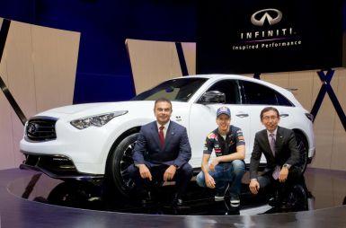 Infiniti начинает прием заказов накроссовер FX Sebastian Vettel version