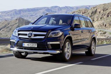 Опубликованы фотографии Mercedes-Benz GL-Class нового поколения