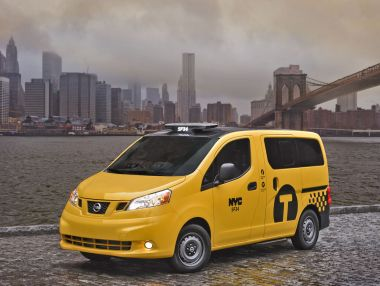 Такси Nissan NV200 станет новым символом Нью-Йорка