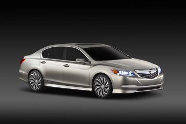 Нью-Йорк 2012. Acura показала концепт нового флагмана RLX