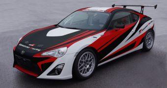 Спорт-кар GAZOO Racing team 86, созданный для гонок 24 Hours Nurburgring.