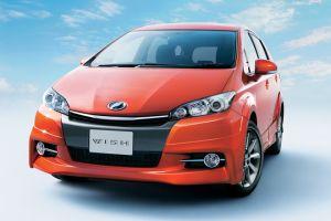 Toyota обновила внешний вид минивэна Wish для рынка Японии