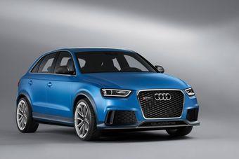 Audi RS Q3 concept будет официально представлен 23 апреля на Международном автосалоне в Пекине.