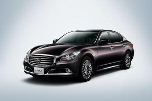 Nissan представил новое поколения седана VIP-класса Cima