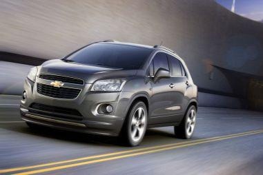 Новый компакт-кроссовер Chevrolet получил названиеTrax
