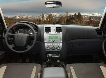 УАЗ существенно улучшил интерьер моделей Патриот и Пикап.