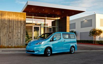 Вторым электрокаром Nissan станет минивэнNV200